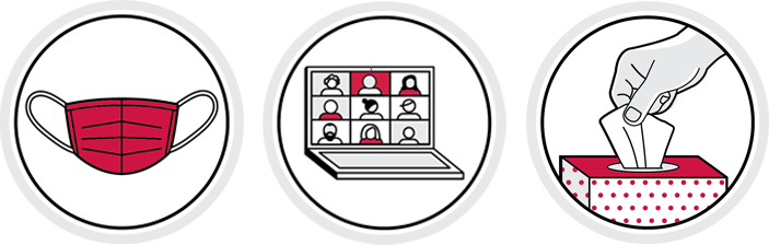 Example icons from toolkit
