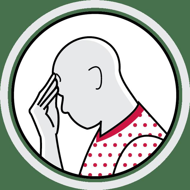 Symptom monitoring icon